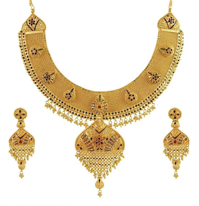 Bridal Gold Jewelery