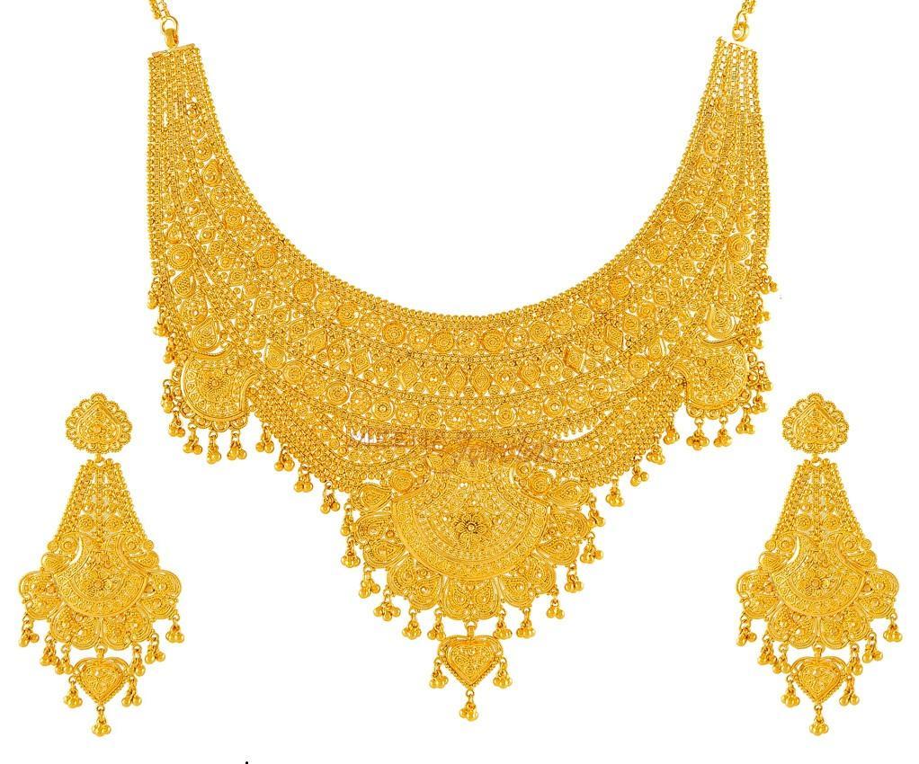 Gold Bridal Jewelery