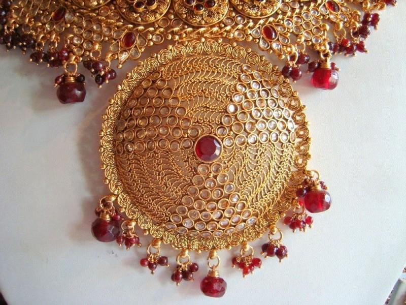 Gold Bridal Jewellery Design