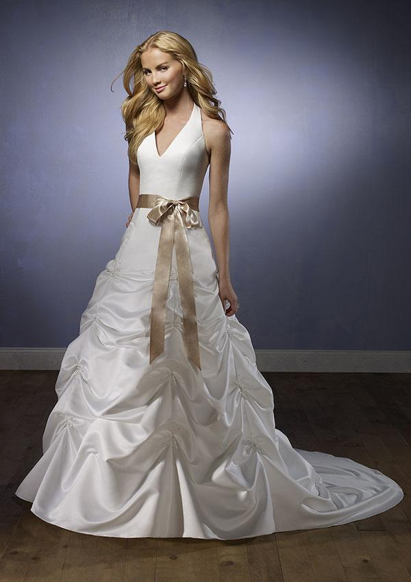 Halter Sweetheart Wedding