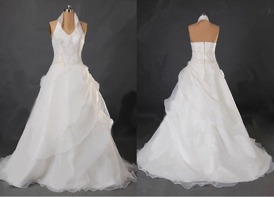 Halter wedding dress wedding dresses