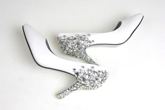 Luxurious High Heels Wedding Shoes