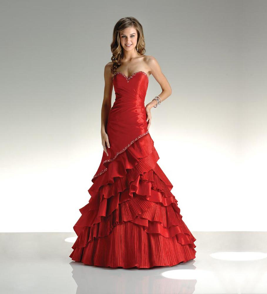 Red Wedding Dreses
