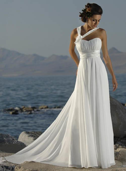 Style wedding dresses is kind of silhouetted slightly long dress with drop