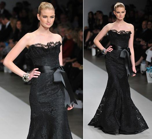 black dress for wedding