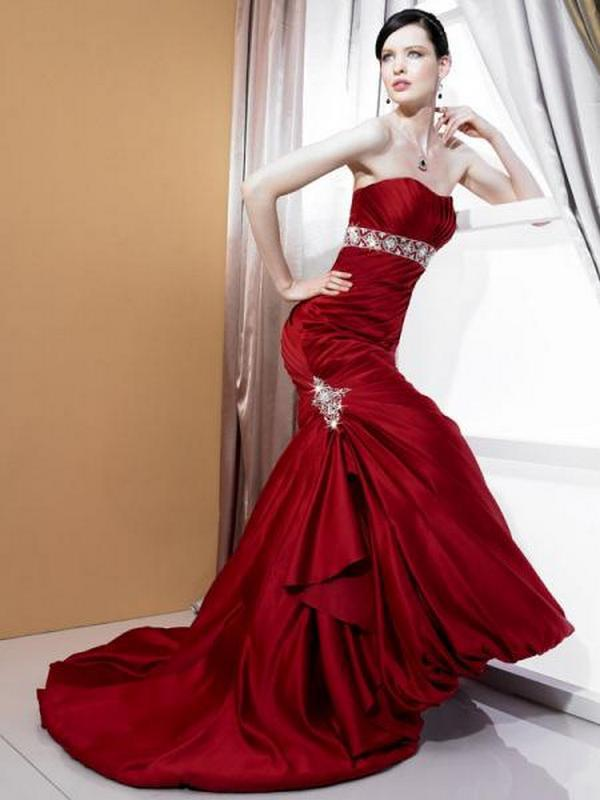 beautiful red wedding dresses wedding red dresses