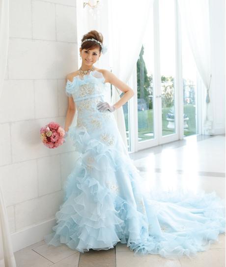 Acqua Grazie Blue Wedding Dresses