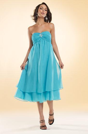 Blue Bridesmaid Dresses Styles