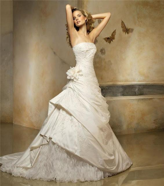 glamorous expensive wedding gowns