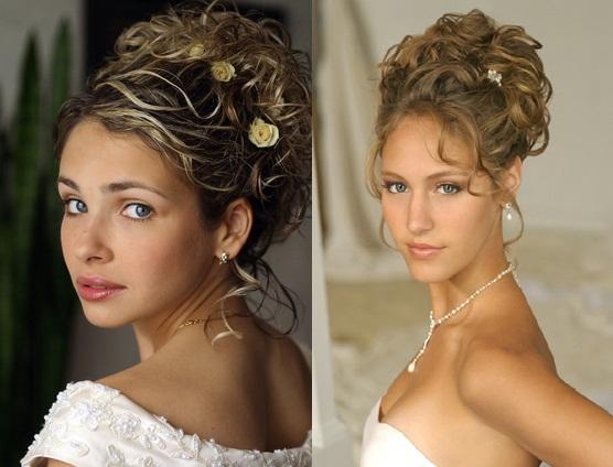 Romantic Wedding Hairstyles For Bride