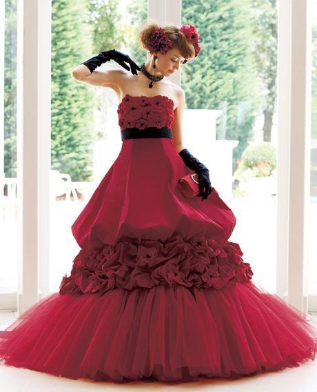 acqua grazie colored wedding dresses