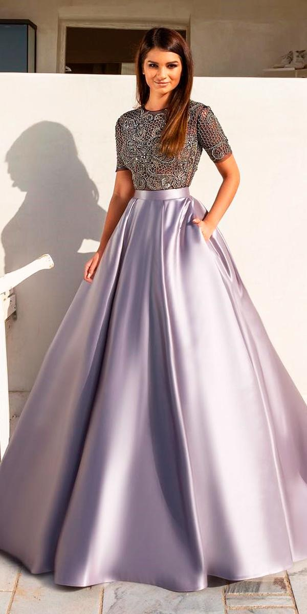 18 Purple Wedding Dresses — New Trend For 2019 | Wedding Dresses Guide