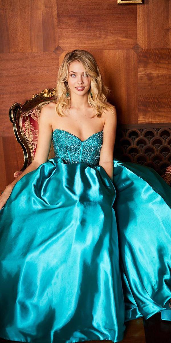 green wedding dresses a line beaded corset strapless mint sherri hill