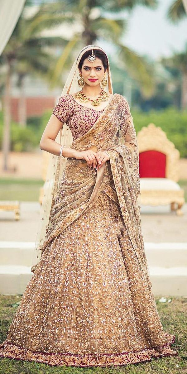 indian wedding dresses a line with cap sleeeves with cape gold utsav fashion
