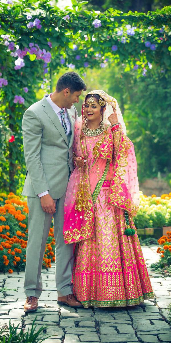 indian wedding dresses gujarati with cape art capture productions