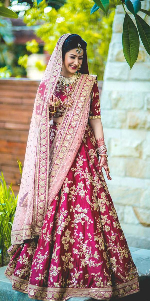 indian wedding dresses traditional red wth cape jodi clikers