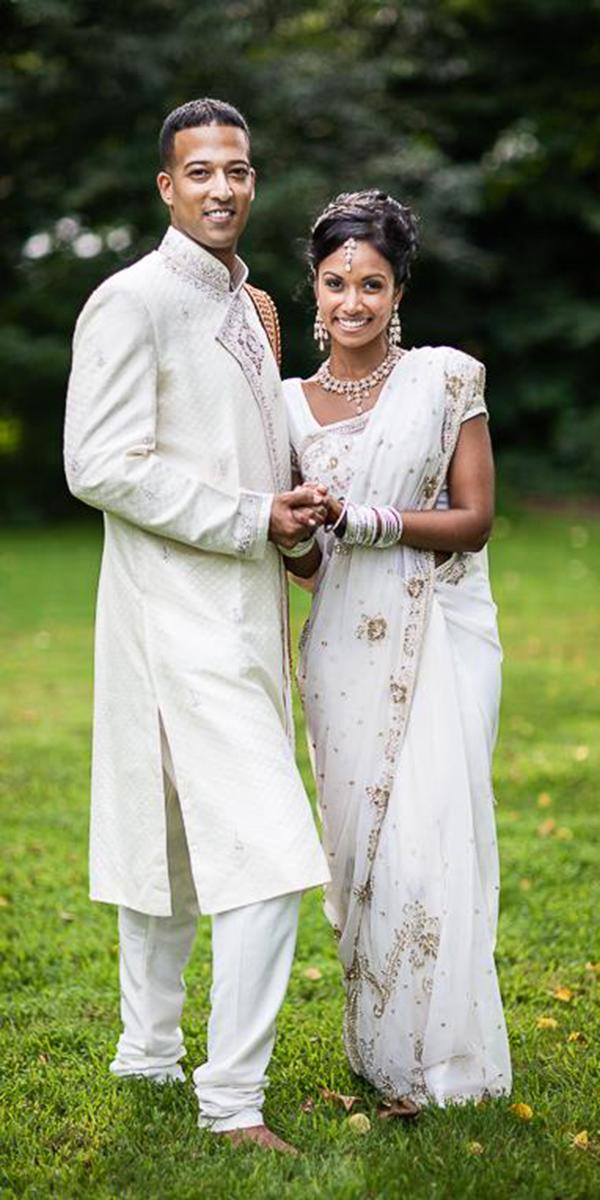 indian wedding dresses white traditional lisa hancock