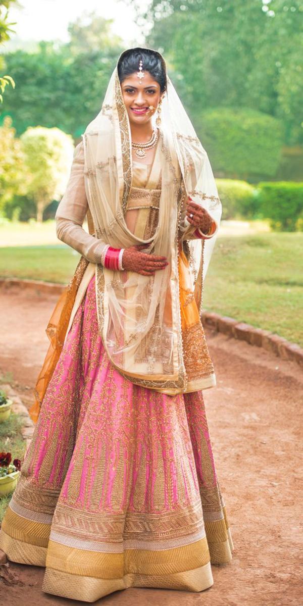 indian wedding dresses with gujarati long sleeves shiv sharma photography