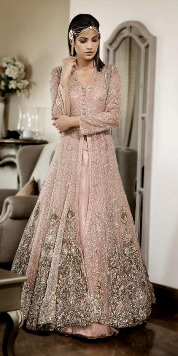 Emejing modern indian wedding dresses contemporary for Long sleeve indian wedding dresses