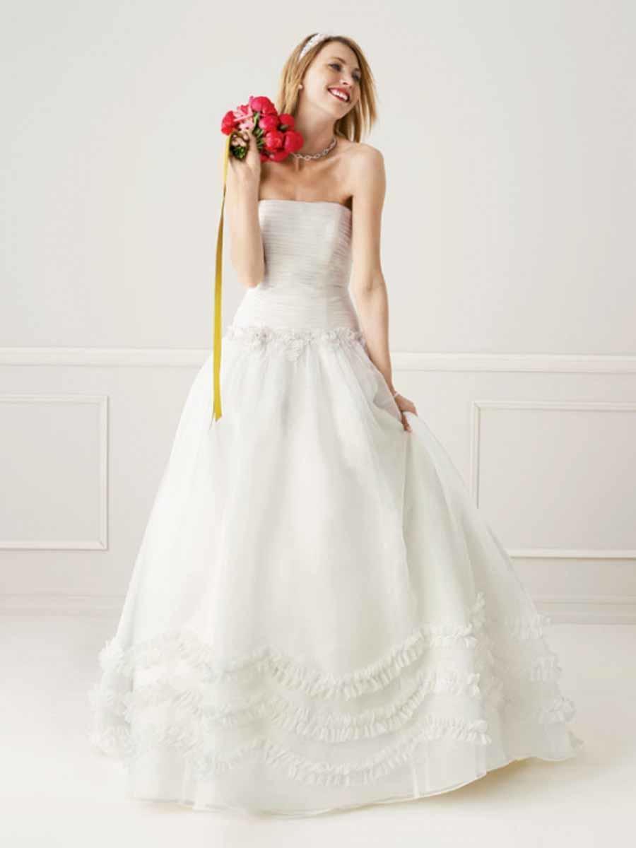 romantic wedding styles gowns