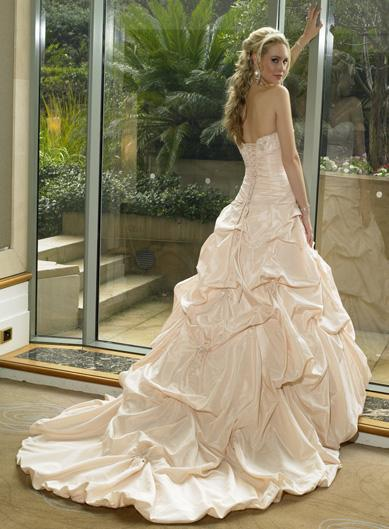 Champagne Wedding Dress