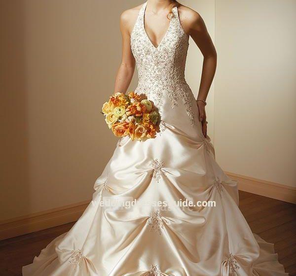 Champagne Wedding Dresses