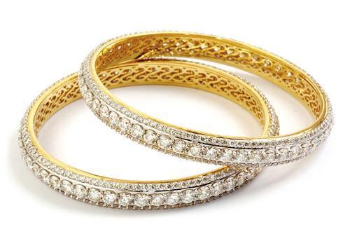 Diamond Bangles For Bridal