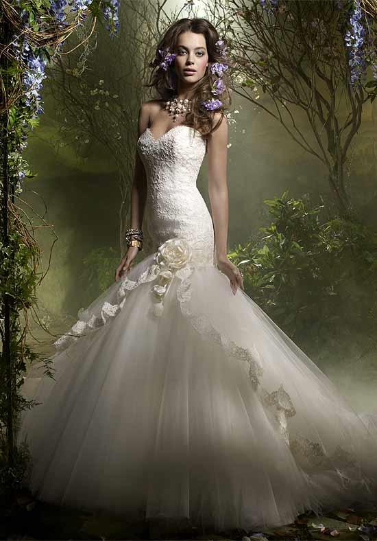 Fantastic Lazaro Wedding Dresses