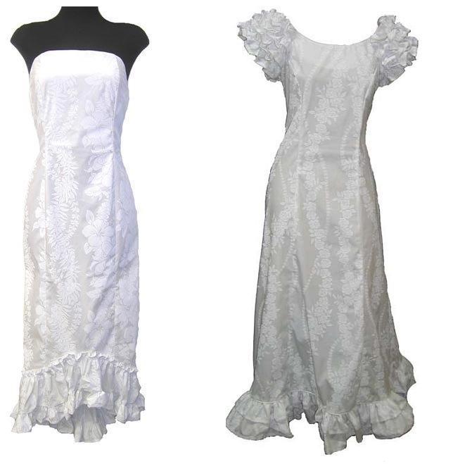 Hawaiian Bridal Dresses