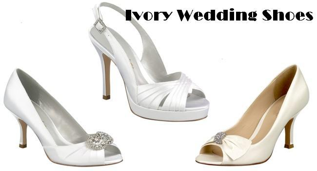 Ivory Bridal Shoes