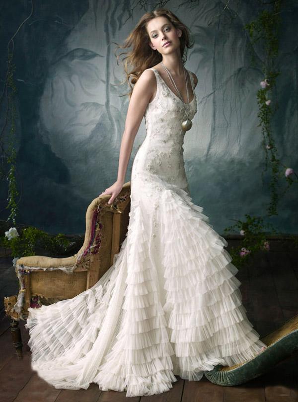 Lazaro Wedding Dresses 2012