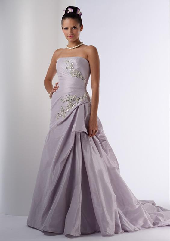 Lilac Wedding Dresses For Bride