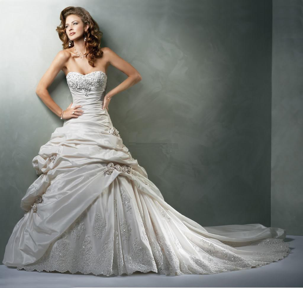 Maggie Sottero Wedding Dress For Bride