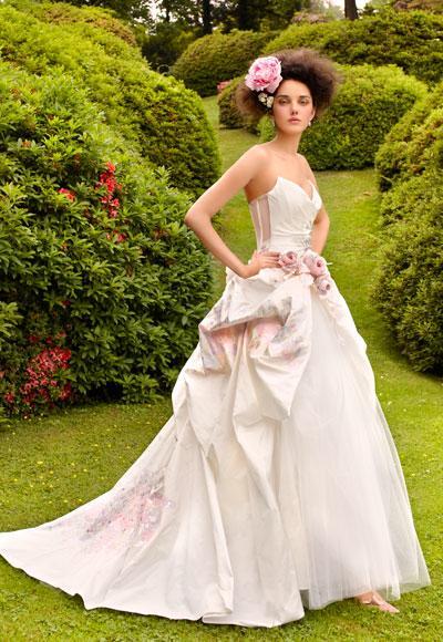 Romantic Garden Wedding Dresses