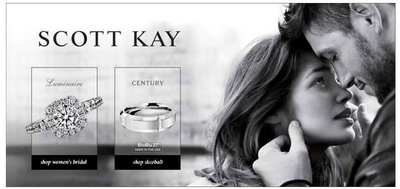Scott Kay Diamond Wedding Rings