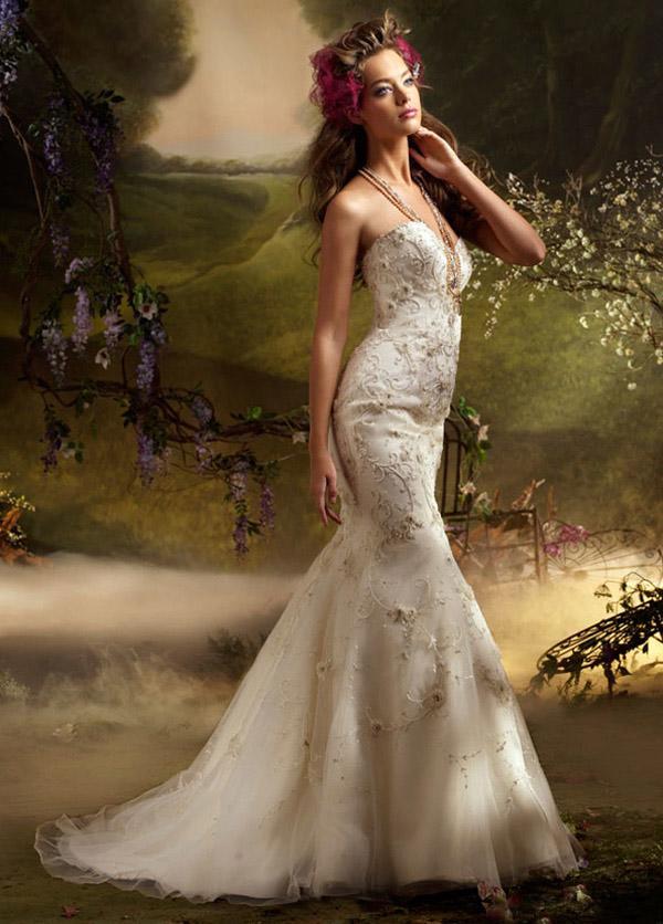Spring Lazaro Wedding Dresses