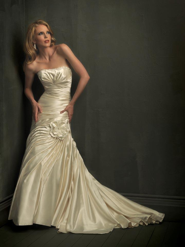 Stylaih champagne wedding dresses