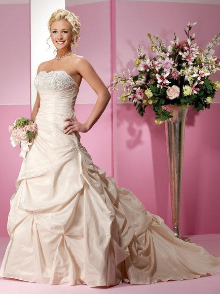 Taffeta Wedding Dress