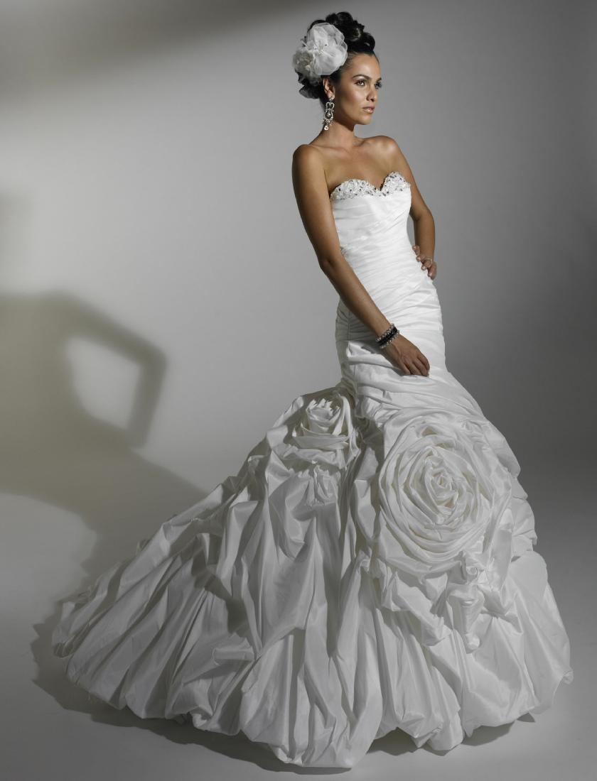 Taffeta Wedding Dresses for bridal
