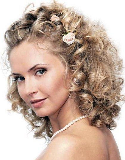Wedding Hairstyles of Medium Hair
