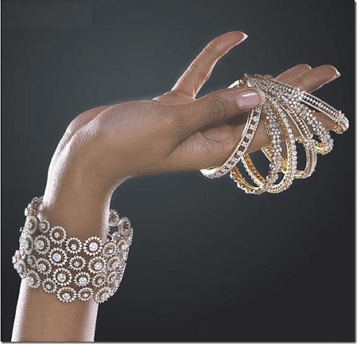beautiful Diamond bangles