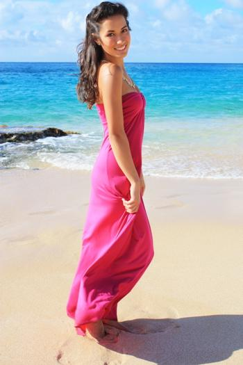the hawaiian holoku a formal hawaiian gown with a train is also a gorgeous choice as a hawaiian wedding gown for those who would like authentic hawaiian