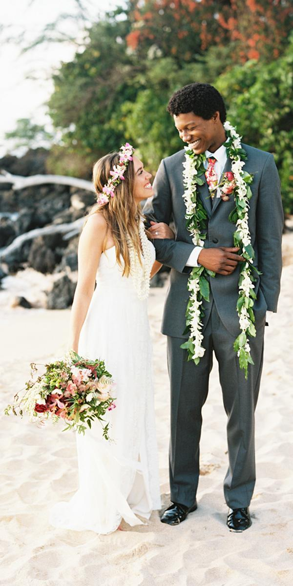 18 Hawaiian Wedding Dresses For Your Love Story Wedding