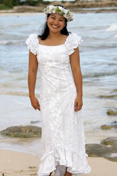 Wedding Dresses Hawaiian Dress