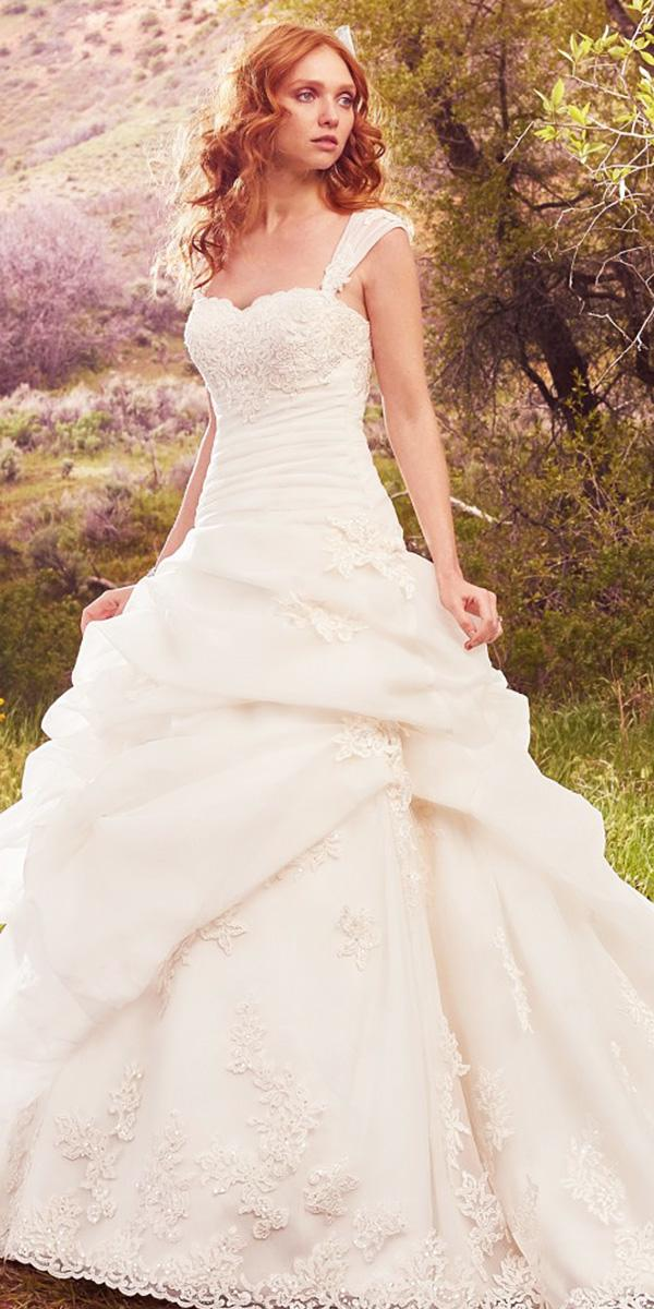 maggie sottero wedding dresses 2017 a line sweetheart full lace 2017