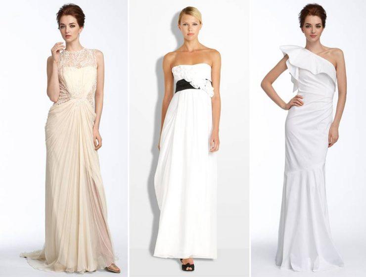 nordstrom wedding Gowns