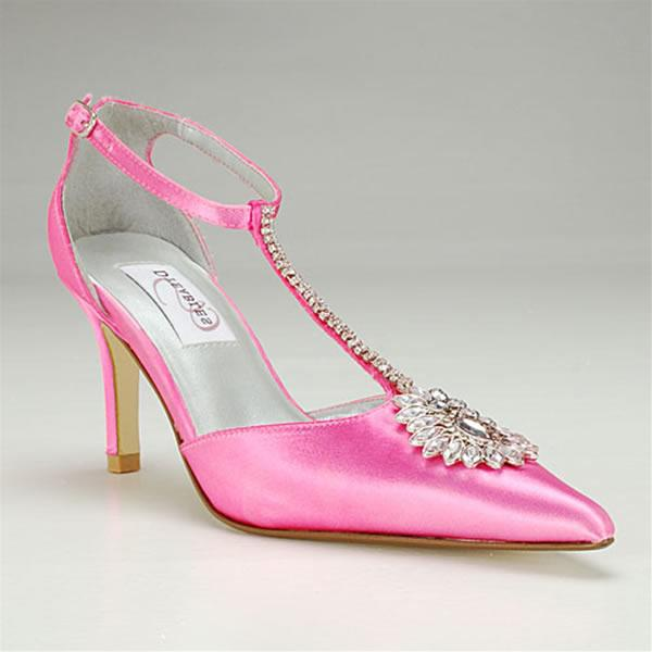 Pink Wedding Bridal Shoes