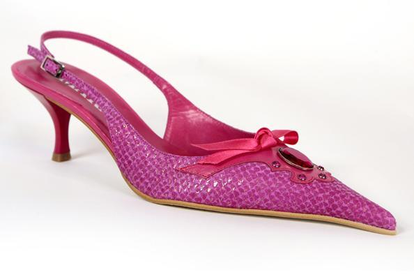 pink slingback shoes for wedding