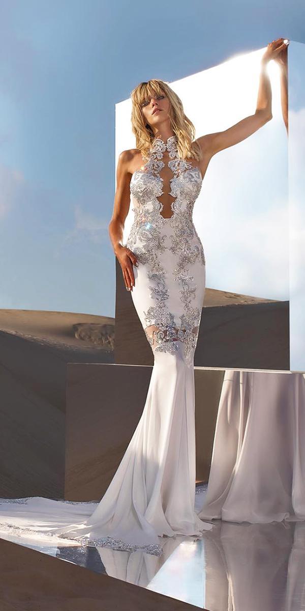 pnina tornai wedding dresses mermaid beaded sweetheart sexy 2018