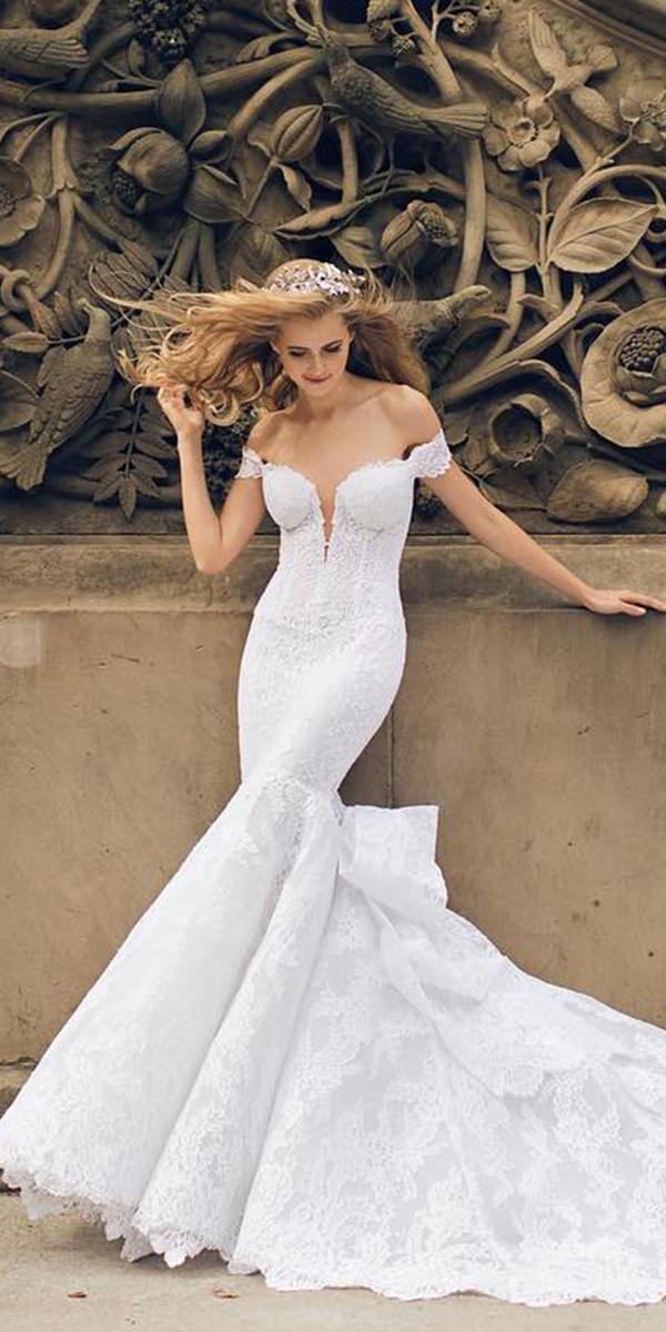 pnina tornai wedding dresses off the shoulder strapless real bride